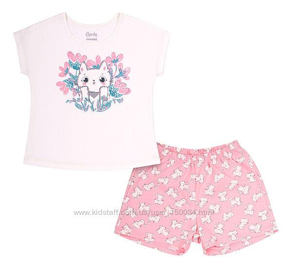 Милые  летние пижамы 2 цвета тм Бемби пж48, пж50 - р.86-146