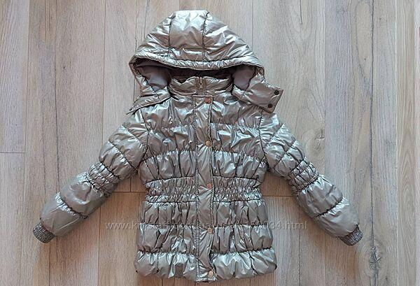 Куртка демисезон р.116-122 - Серебро. тм Оранж верблюд