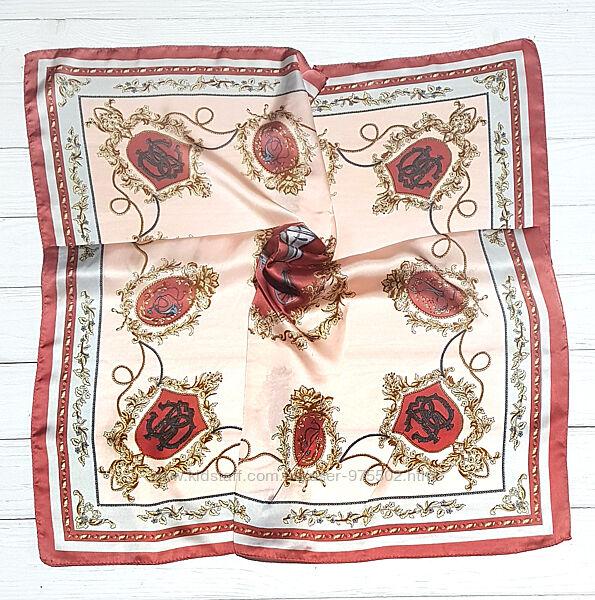 Шейный платок косынка лента для волос твилли