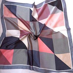 Шейный платок в расцветках косынка твилли