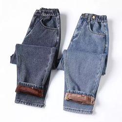 Тёплые стильные джинсы МОМ размеры S-5XL