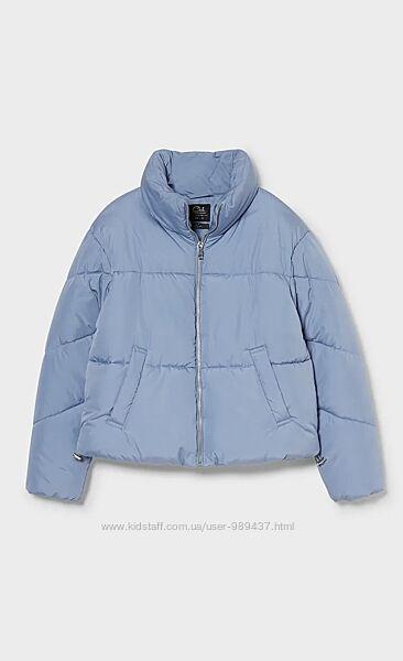 Стильная короткая демисезонная куртка с&a испания
