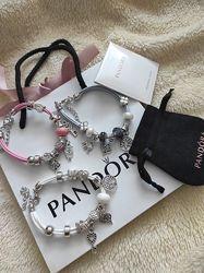 Браслеты и наборы шармов Pandora в оригинальной упаковке