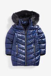 NEXT Непромокаемая  куртка с искусственным мехом  13 л.  р.158