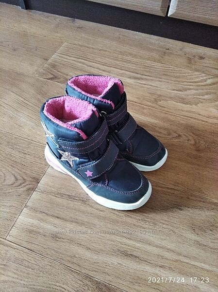 Ботинки Lupilu 27р 17,5 см в идеальном состоянии