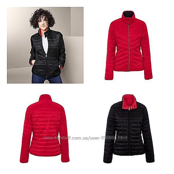 Двухсторонняя стеганная куртка от tchiboгермания  44 евро, на наш 50/52
