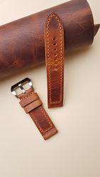 Кожаные ремешки для любимых часиков от 6 мм до 34 мм