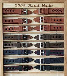ремешки для часов, кожаные.