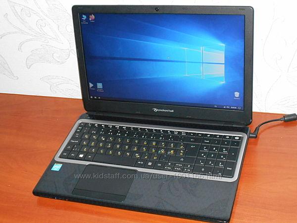 Ноутбук Packard Bell EasyNote Z5WT3 - 15,6 - 4 Ядра - Ram 2Gb - HDD 500Gb