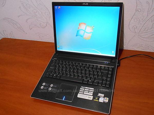Ноутбук Asus Lamborghini VX1 - 15,4 - 2 Ядра - Ram 2Gb - HDD 120Gb - Идеал