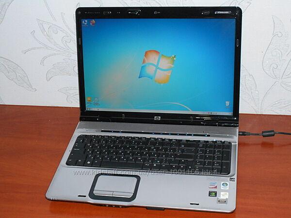 Ноутбук HP Pavilion DV9700 - 17,1 - 2 Ядра - Ram 2Gb - HDD 250Gb - Идеал