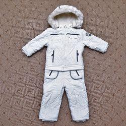 Детский зимний раздельный комбинезон Chicco