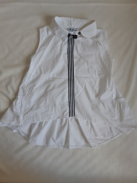 Рубашка для девочки р.140 в отличном состоянии