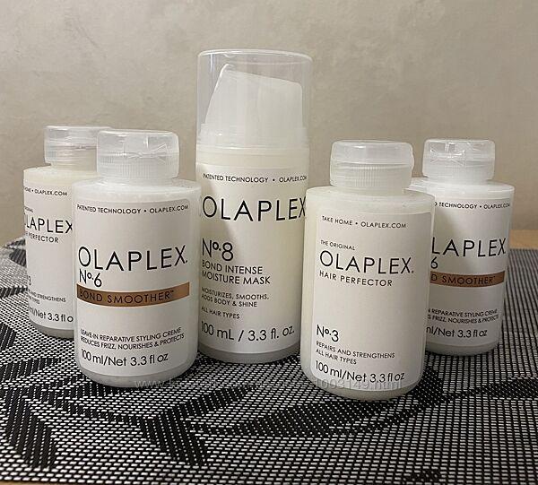 В наличии Olaplex No 6 Bond Smoother , Olaplex Hair Protector No.3. , No 8