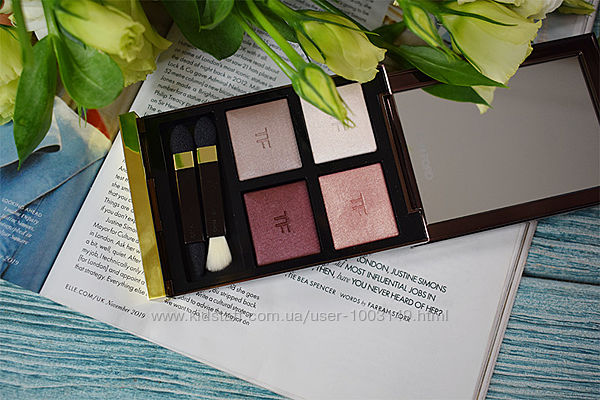 Тени Том Форд TOM FORD Eye Color Quad Virgin Orchid, Nude dip