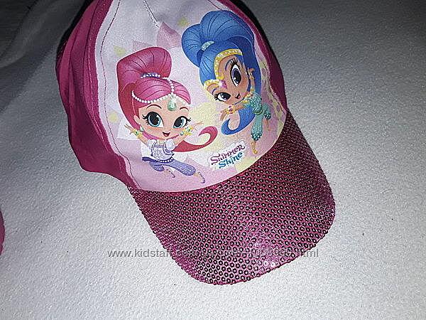 Красивенная кепка Shimmer для девочки 5-12 лет с UPF защитой от солнца.