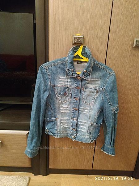 Джинсовый пиджак куртка Mariella Burani