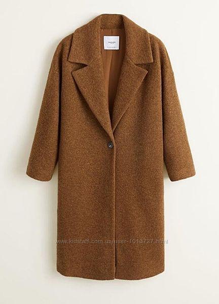Шикарное  пальто оверсайз mango М