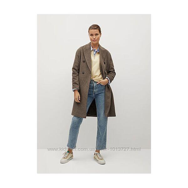 Базовое пальто mango l
