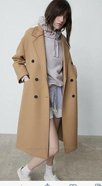 Безумно красивое стильное пальто zara xs, s, m, l , Хl
