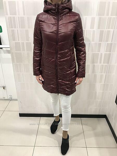 Демисезонное пальто с капюшоном. Cropp. Размеры от Xs до M.