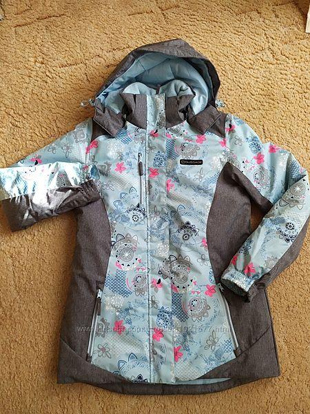 Лыжная термокуртка для девочки, штаны лыжные