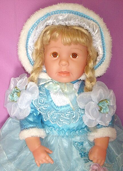 Куколка -барышня в голубом