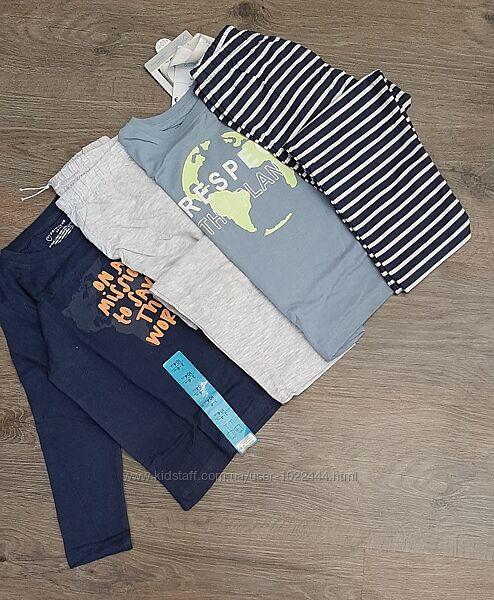Пижамы Primark набор из 2-х штук на 3-4 года