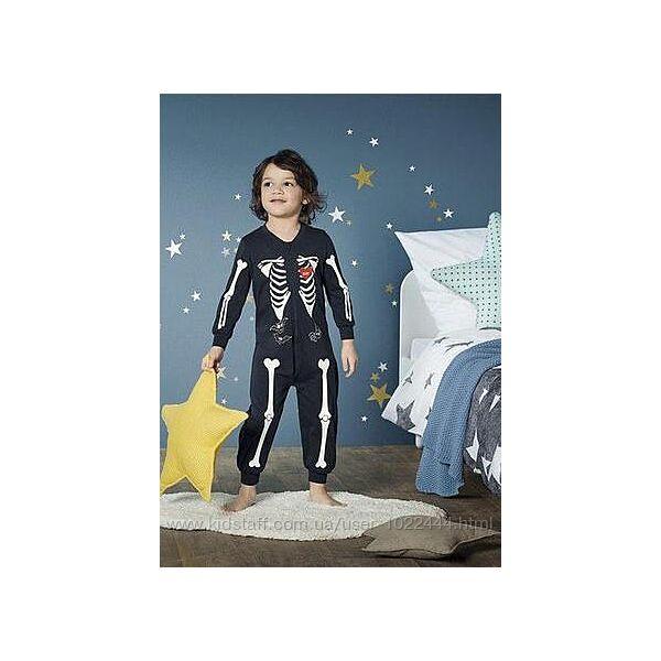 Кигуруми пижама Lupilu слип человечек светится в темноте