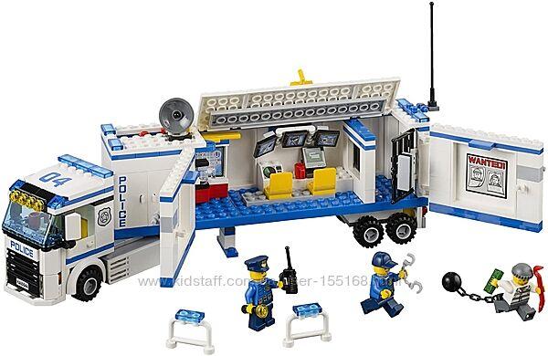 LEGO, оригинал. Полицейская фура, грузовик, полиция, выездная, 60044, лего