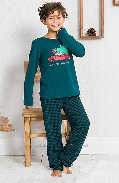 Пижама для мальчика Vienetta Secret от 3 до 8 лет