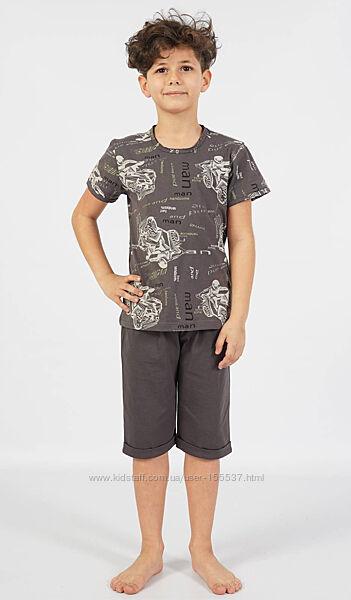 Комплект для мальчика футболка капри на 9-10, 11-12, 13-14, 15-16 лет