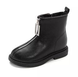 Моднявые ботинки для девочки27р