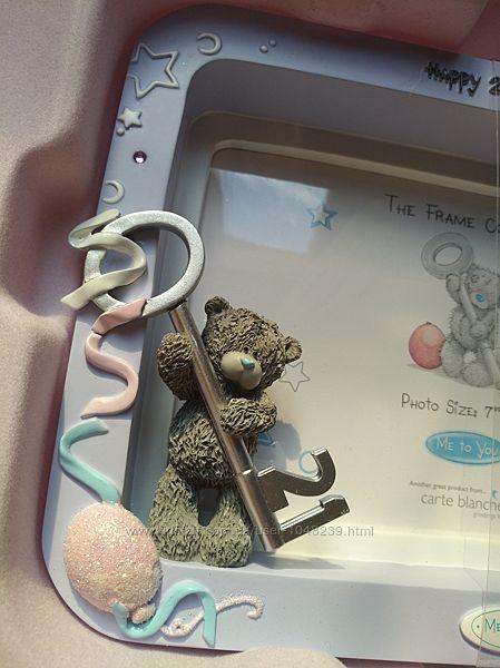 Коллекционная подарочная фоторамка с мишкой Тедди Me to You