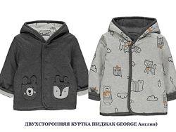 Очень красивая двухсторонняя куртка пиджак GEORGE Джордж, Англия