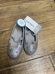 Туфли мокасины балетки Саrters 5 US 12см