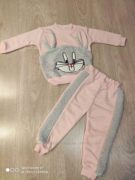 Красивый костюм для девочки, 6-24 мес