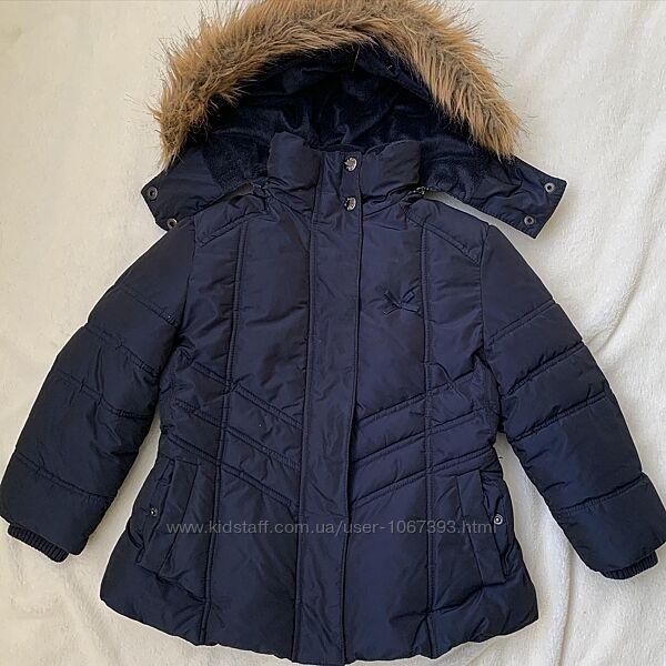 Курточка зима на дівчинку 4 років,   б/у в ідеальному стані