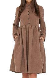 Стильное теплое платье из микровельвета с 40 по 56 р.