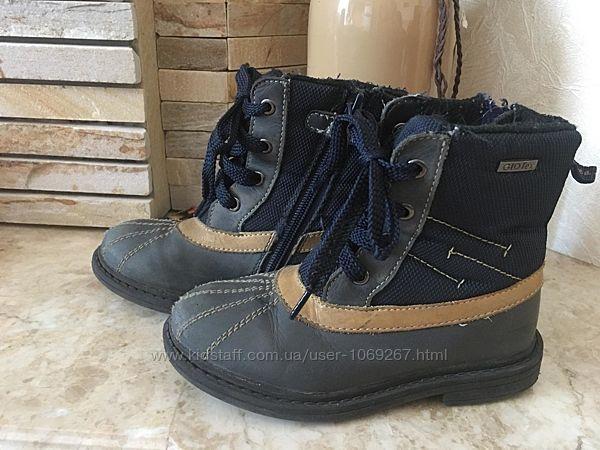 Кожаные термо-ботинки GIOS EPPO Германия