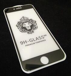 Защитное 5D стекло iPhone 7, iPhone 8 черное, белое