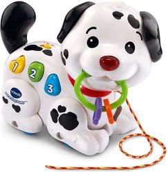 Интерактивная музыкальная игрушка каталка Щенок VTech Pull Sing Puppy 6 мес