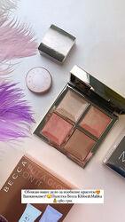 Палетка Becca Khloe Malika Bronze Blush & Glow Palette