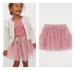 Нова фатинова юбка H&M розм. 116, 128 і 140 в наявності