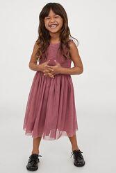 Нове нарядне плаття H&M розм. 116, 122 і 128
