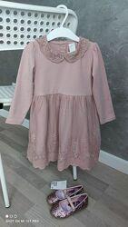 В наявності Нове нарядне плаття H&M розм. 12-18 міс. /86 і 1,5-2 р. /92