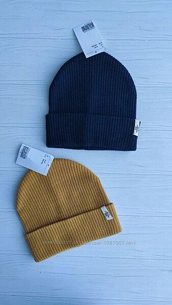 Нова стильна шапка h&m в рубчик розм. 1-2 р. і 2-4 р.
