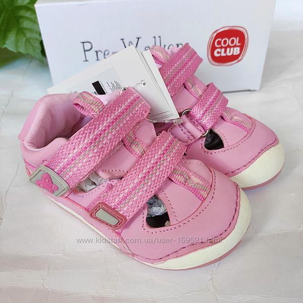 Лучшая первая обувь от Сool Сlub Польша кожа 19-23 размеры сандалии