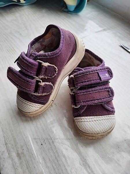 Текстильные туфли Zetpol 13см р.20 мокасины