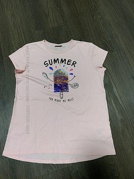 футболочка на девочку